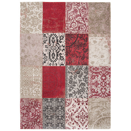 Alfombra PATCHWORK 8985 RED